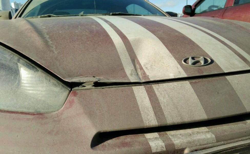 Кузовной ремонт Hyundai Coupe